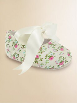 Ralph Lauren - Infant's Sweety Ditsy Floral Shoes