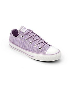 Converse - Girl's Chuck Taylor All Star Beach Bag Striped Sneakers