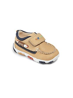 Geox - Infant's & Toddler's Nubuck Boat Shoes