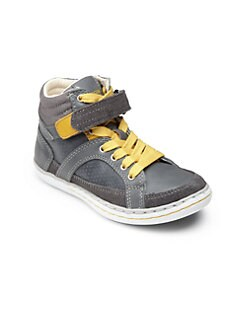Geox - Kid's JR Garcia High-Top Sneakers