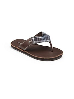 Cole Haan - Toddler's & Boy's Woven Thong Flip Flops