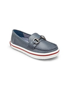 Cole Haan - Boy's Leather Boat Shoes
