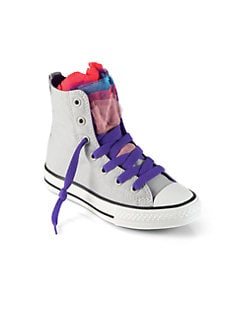 Converse - Girl's Party High-Top Sneakers