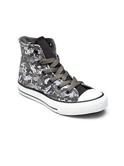 Converse - Kid's Camo High-Top Sneakers