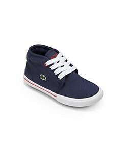Lacoste - Little Boy's Canvas Chukka Sneakers