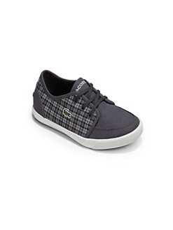 Lacoste - Little Boy's Canvas Sneakers