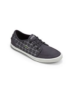Lacoste - Boy's Canvas Sneakers