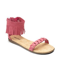 Minnetonka - Girl's Nikita Fringe Sandals
