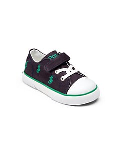 Ralph Lauren - Infant's & Toddler's Bal Harbour Repeat Cap Toe Sneakers