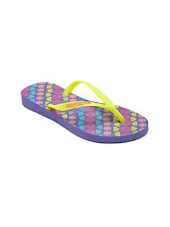 Havaianas - Toddlers & Little Girl's Trend Slim Flip Flops
