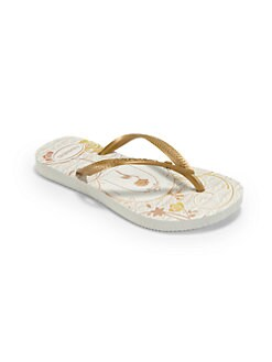 Havaianas - Toddler & Girl's Princess Belle Slim Flip Flops