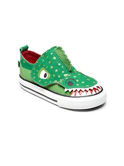 Converse - Infant's & Toddler's All Star No Problem Crocodile Sneakers