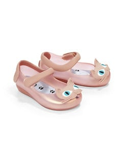 Mini Melissa - Infant's & Toddler's Ultragirl Mary Janes Cat Flats