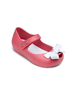 Mini Melissa - Infant's & Toddler's Ultragirl Bow Mary Jane Flats