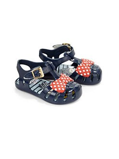 Mini Melissa - Infant's & Toddler's Minnie Mouse Jelly Sandals