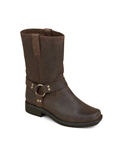 Frye - Girl's Harness Leather Boots
