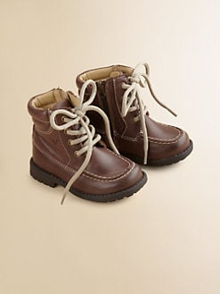 Armani Junior - Toddler's & Little Boy's Leather Work Boots