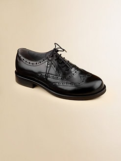 Armani Junior - Boy's Leather Oxford Dress Shoes