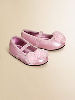 Stuart Weitzman - Infant's Mary Jane Ballerina Flats