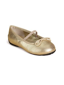 Ralph Lauren - Infant's & Toddler Girl's Allie Leather Ballet Flats