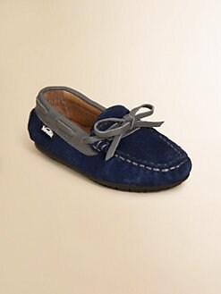 Venettini - Toddler's & Boy's Suede Moccasins
