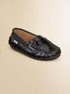 Venettini - Kid's Leather Penny Loafers
