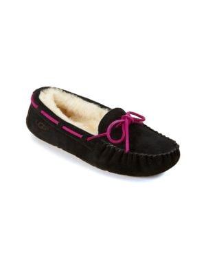 Kid's Dakota Suede Slippers