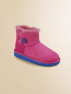 UGG Australia - Infant's, Toddler's & Kid's Bailey Button Mini Boot
