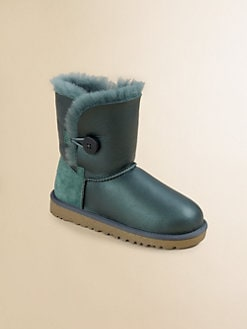UGG Australia - Kid's Metallic Bailey Button Boots