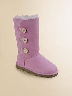 UGG Australia - Kid's Bailey Button Sheepskin Boots