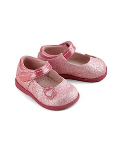 Footmates - Infant's & Toddler's Olivia Sparkle Mary Jane Flats
