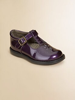 Footmates - Infant's, Toddler's & Little Girl's Sherry Patent Cutout Mary Janes