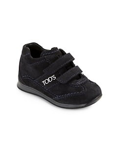 Tod's - Infant & Toddler Boy's Suede Grip-Tape Sneakers