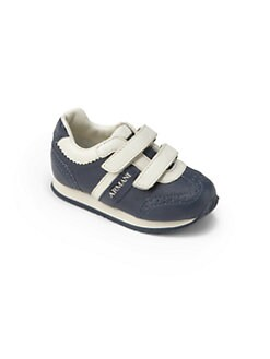 Armani Junior - Toddler's & Little Boy's Leather Logo Sneakers