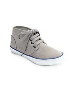 Armani Junior - Toddler's & Little Boy's Suede High-Top Sneakers