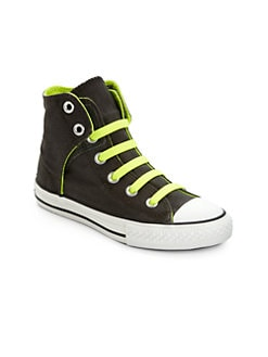 Converse - Boy's Chuck Taylor All Star Easy Slip On High-Top Sneakers