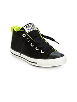 Converse - Boy's Chuck Taylor All Star Street Slip-On Mid-Top Sneakers