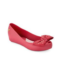 Mini Melissa - Girl's Ultragirl Sweet Jelly Peep-Toe Flats