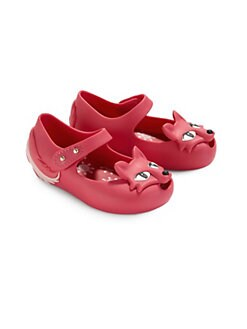 Mini Melissa - Infant's, Toddler's & Little Girl's Mini Melissa Ultragirl Fox Mary Jane Flats