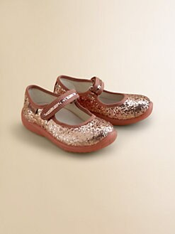 Naturino - Infant's & Toddler's Glitter Mary Jane Flats