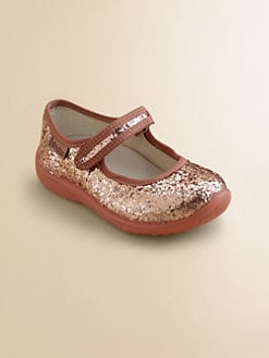 Naturino - Girl's Glitter Mary Jane Flats