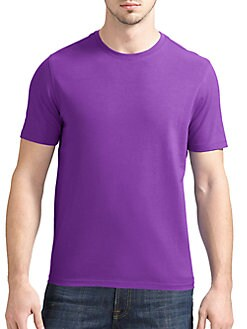Saks Fifth Avenue Men's Collection - Crewneck Jersey Tee