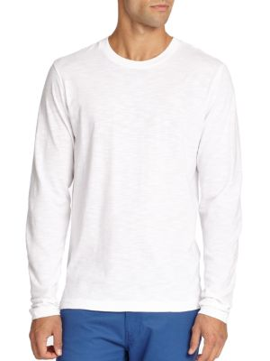 Long-Sleeved Cotton Tee
