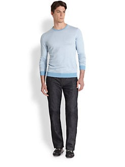 Saks Fifth Avenue Men's Collection - Striped Sweater