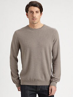 Saks Fifth Avenue Men's Collection - Popcorn Crewneck Sweater