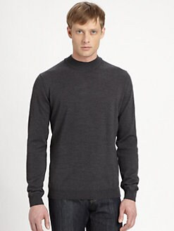 Saks Fifth Avenue Men's Collection - Wool Mockneck Pullover
