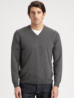 Saks Fifth Avenue Men's Collection - Cashmere V-Neck Sweater