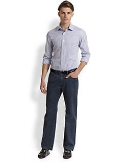 Saks Fifth Avenue Men's Collection - Plaid Sportshirt
