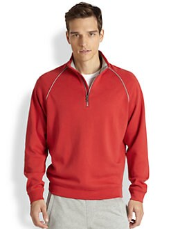 Saks Fifth Avenue Collection - Quarter-Zip Sweatshirt