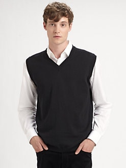 Saks Fifth Avenue Men's Collection - V-Neck Vest